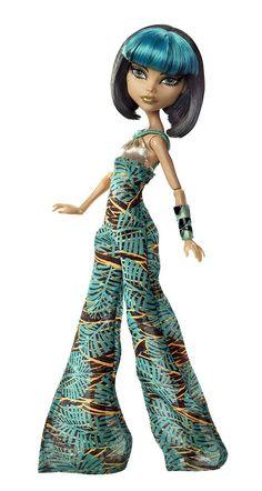 Monster High Cleo de Nile Skull Shores