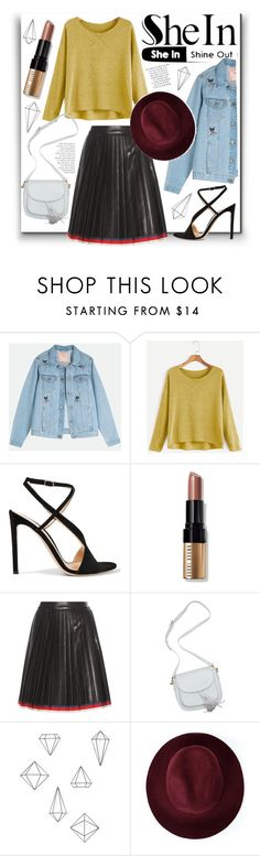 """Bordersz"" by libstowki on Polyvore featuring moda, Gianvito Rossi, Bobbi Brown Cosmetics, Gucci, Umbra y Redopin"