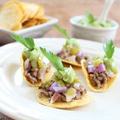 awesome Mini Beef and Bacon Tacos