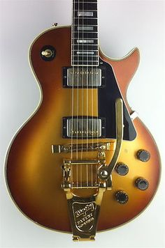 1982 Gibson Les Paul Custom Goldburst