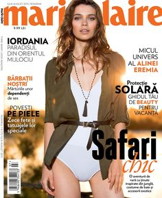 into the wild: iulia cirstea by tudor cucu for marie claire romania july / august 2015