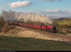 RailPictures.Net Photo: UK Steam 4-6-0 at Cumbria, United Kingdom by henry elliott