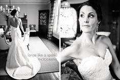 Our beautiful bride, Jordan, looking absolutely stunning! #bridalportraiture #weddingphotography #bw #blackandwhite #breathtaking