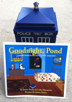 Goodnight, Pond - A Full Color Parody Book For The Next Hopeful Companion, by James Hance & Leila Miyamot