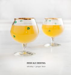 Irish Ale Ginger-Beer Cocktail
