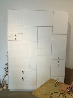 Ikea kasten icm Superfront deurtjes
