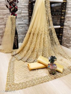 Checkout this latest Sarees Product Name: *Jivika Refined Net Sarees* Pattern: Embroidered Sizes:  Free Size Country of Origin: India Easy Returns Available In Case Of Any Issue   Catalog Rating: ★4 (19666)  Catalog Name: Jivika Refined Net Sarees CatalogID_779255 C74-SC1004 Code: 488-9026305-2652