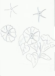 Art class ideas: More Flowers for Spring
