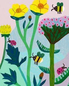 Flowers #illustration #sketchbook #monikaforsberg