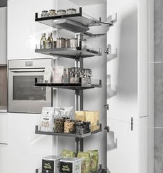 15.831.A - Nadstawiana półka Pleno 450/ antracyt - Peka Shelving, Corner, Kitchen, Diy, House, Design, Home Decor, Ideas, Shelves