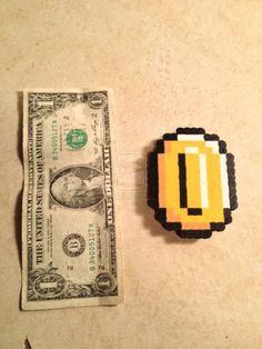 Super Mario Bros. Coin by radioactivehead.deviantart.com on @deviantART