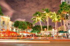 Lincoln Road Mall, South Beach, Miami, Florida