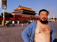 Chinese Artist Ai Weiwei- I love this man!