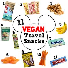 Packing for Vacation: Vegan Treats in Tow | The Friendly Fig