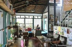 Birds Nest Cafe in Chiang Mai City