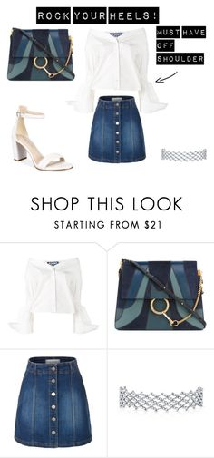 """Rock your heels!"" by maria-stratulat on Polyvore featuring Jacquemus, Chloé, LE3NO and Kenneth Cole"