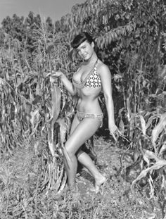 Betty Page' Pin-ups by Bunny Yeager