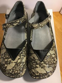 ALEGRIA MADRID MAD-360 Size 41 US WOMEN'S SIZE 10.5 CASUAL WORK MARY JANE SHOES #Alegria #MaryJanes #Casual