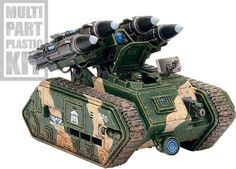 Warhammer 40k - Imperial Guard - Manticore - This thing kills anything... Except Terminators with Storm Shields...