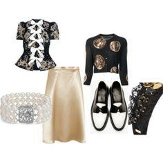 VINTAGE My Style, Polyvore, Image, Fashion, Moda, Fashion Styles, Fashion Illustrations