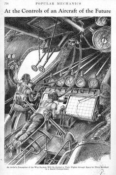Rocket ship 1932269 Popular Mechanics, Science Books, Pilot, The Past, Aircraft, Concept, Explore, History, Travel