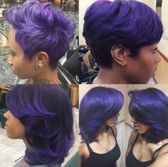 Purple Craze! Which is your favorite? via @salonchristol  Read the article here - http://www.blackhairinformation.com/hairstyle-gallery/purple-craze-favorite-via-salonchristol/