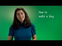 How to make a blog?