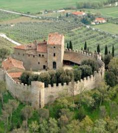 1200 year old castle in Umbria, Italy for sale