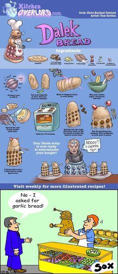 Dalek bread?