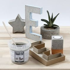 Home Interior aus gegossenem Beton Paddington Bear Party, Beton Diy, Concrete Crafts, Autumn Crafts, Home Interior, Decoration, Diy Tutorial, Planter Pots, Room Decor