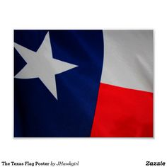 The Texas Flag Poster
