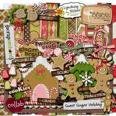 Holiday digital kit