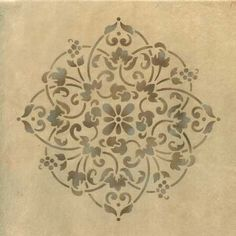 Wall Stencils | Floral Medallion Set B | Royal Design Studio