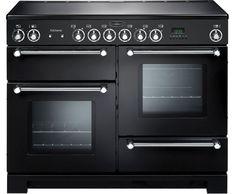 KCH110ECBL/C_BK | Rangemaster Electric Range Cooker | ao.com