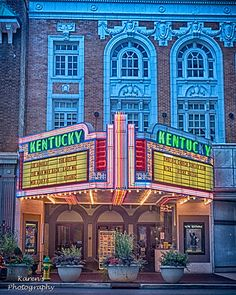 Kentucky Theatre, Lexington, Kentucky