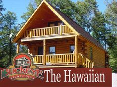 The Hawaiian Cabin - Buckeye Cabins