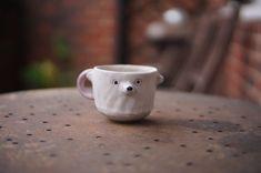 Zoo Keeper, Afternoon Tea, Stoneware, Organic, Bear, Ceramics, Texture, Colour, Mugs
