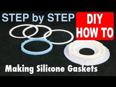 Casting a Silicone Gasket in 3D printed FDM PLA mold from an Ultimaker DIY How To - YouTube