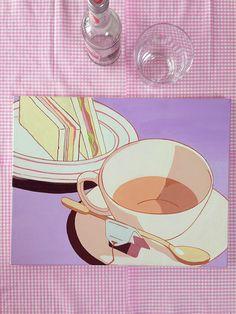 dearninety: x cm, Acrylic on Canvas Easy Canvas Art, Simple Canvas Paintings, Mini Canvas Art, Posca Marker, Marker Art, Pretty Art, Cute Art, Posca Art, Arte Sketchbook