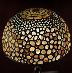 Tiffany Studios -pebble table lamp