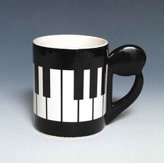 Music Treasures Co. Everything from music gifts to educational resources. Music Treasures Co. is your one stop shop for music items. Music Keyboard, Music Items, Music Stuff, Piano Art, Posca Art, Music Decor, Unique Coffee Mugs, Music Gifts, Pottery