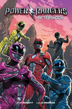 New Power Rangers Film Gets Graphic Novel Sequel in March Two different covers for comic Boom! Studios revealed on Monday that is publishing Saban's Power Rangers: Aftershock, a graphic nov. Power Rangers 2017, Power Rangers Movie 2017, Saban's Power Rangers, Mighty Morphin Power Rangers, Power Rangers Pictures, Dc Comics, Movie Sequels, Boom Studios, Marvel