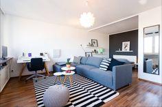 Tolle 1 Zimmer Wohnung mit Skyline Blick - 1-Zimmer-Wohnung in Frankfurt am Main-Sachsenhausen