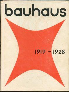 """Bauhaus 1919-1928"", by Herbert Bayer, Walter and Ise Gropius, eds. (3rd printing, 1959)"