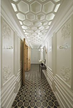 Another genius touch - a great ceiling fixture. #architecture #art #design #creativity