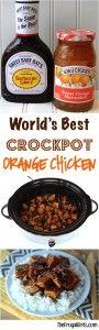 Crockpot Orange Chicken Recipe - at TheFrugalGirls.com