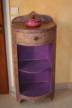 Muebles extremos con cartón. | Quiero más diseño