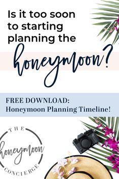 The Honeymoon Concierge — Honeymoon Planning Timeline