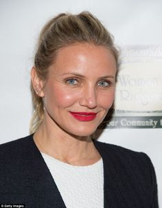'You know when you know!' Cameron Diaz poses at book signing after opening up about marrying Benji Madden... just two months after they met