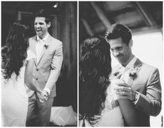 Vintage barn wedding | First look | Wedding moments | Julie Paisley Photography | www.juliepaisley.com